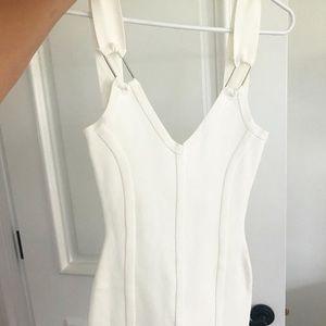 Revolve White Bodycon Dress